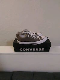 Brand new dark gray Converse