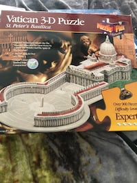 3-D puzzle. New! Make offer! Amazon sells it for $70 Virginia Beach, 23453