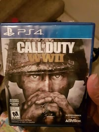 PS4 Call of Duty WWII case Burnaby, V5A 4G5