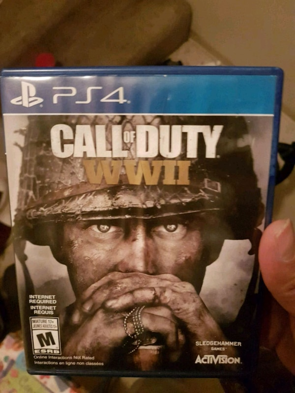 PS4 Call of Duty WWII case