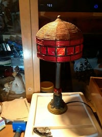 Red vintage lamps $20 each West Jordan, 84088