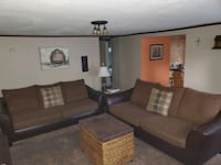2 couches asking 100 a pc.  Avon, 46123