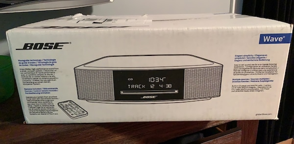 Bose Wave Music System lV w/ remote new in sealed box