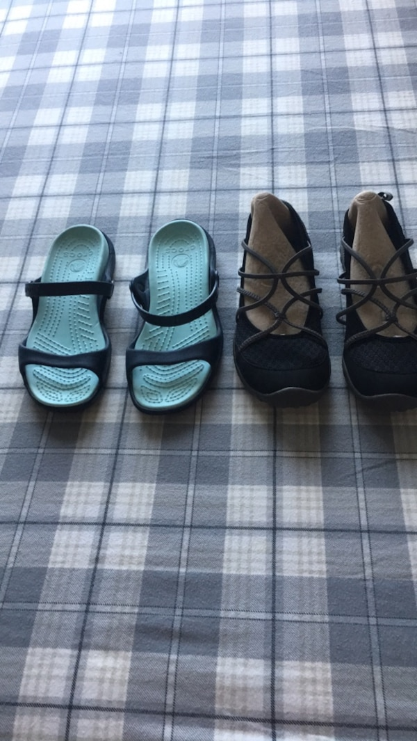 c5a5acc31ad25e Used jumbo sport size 8 and crocs sandals size 7.  15 for both. for sale in  Largo - letgo