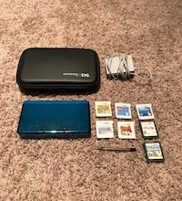 Nintendo 3ds with 7 games, case, charger, and pen. Barrington Hills, 60010