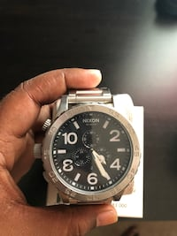 *Reduced* Nixon 51-30 Chrono Men's Watch Silver *Need Gone ASAP* Ajax, L1T 4Y9