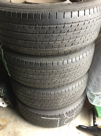 pile of auto tire set Brampton, L6R 3M6