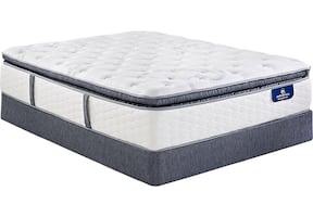 Serta Plus King Size Mattress Perfect Sleeper Super Pillow Top Evans