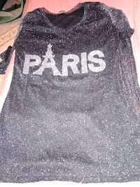 black and gray Pink by Victoria's Secret shirt 12852 km