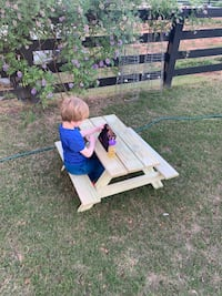 Picnic tables for your kids