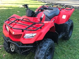 2012 Suzuki King Quad ATV