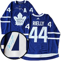 Morgan Rielly Signed Maple Leafs Jersey COA 556 km