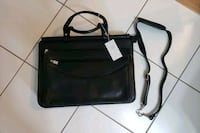 Ladies leather briefcase brand new