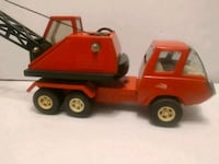 Vintage 1970s Tonka Orange Crane Truck in AS-PICTURED condition Whitchurch-Stouffville, L4A 0J5