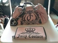 brown and black Juicy Couture leather handbag Cabazon, 92230