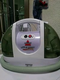 white and green Bissell Little Green vacuum cleaner Anaheim, 92805