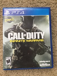 PS4 Call of Duty Infinite Warfare case Bladensburg, 20710