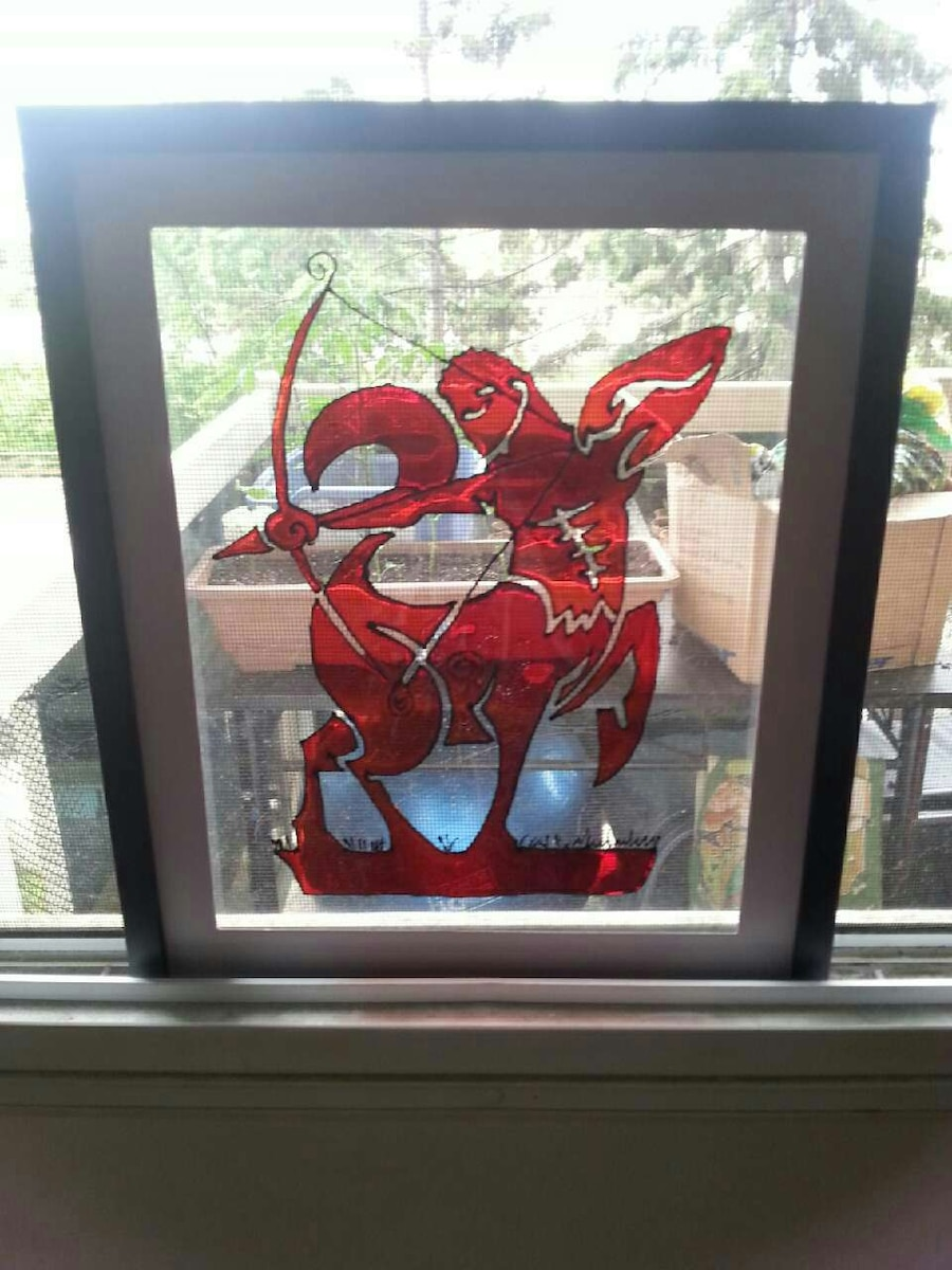 Stained glass art and over 100 different images