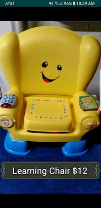 Fisher price learning chair. Warren, 48088