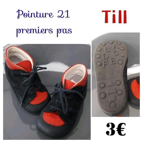 Chaussures 1er pas...