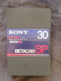 Lot de 20 K7 Betacam SP 6194 km