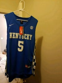 blue and white Nike basketball jersey Murfreesboro, 37129