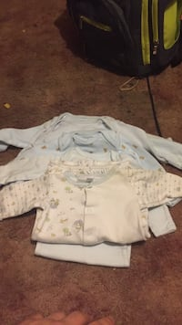Newborn and 0-3 month baby boys clothes smoke free Hagerstown, 21740