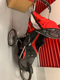 red and black jogging stroller Falls Church, 22046