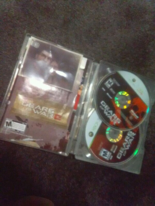 XBOX 360 Gears of War 2 and 3 games