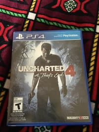 Uncharted 4 PS4 game case Calgary, T3J 1B4