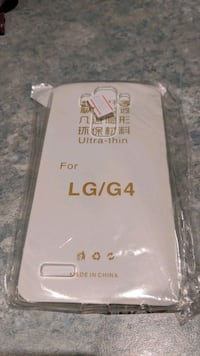 LG G4 case and glass protector