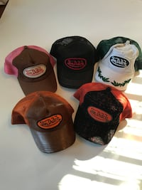Five assorted colors of fitted caps. von dutch North Chesterfield, 23235
