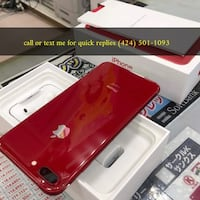 Red iphone 8plus for sale