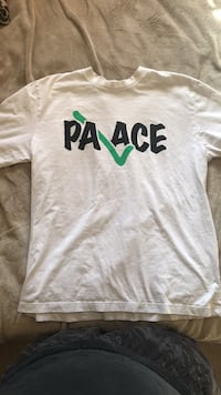 Palace Check Tee White and Green Chandler, 85226