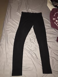 Black garage pants Georgina