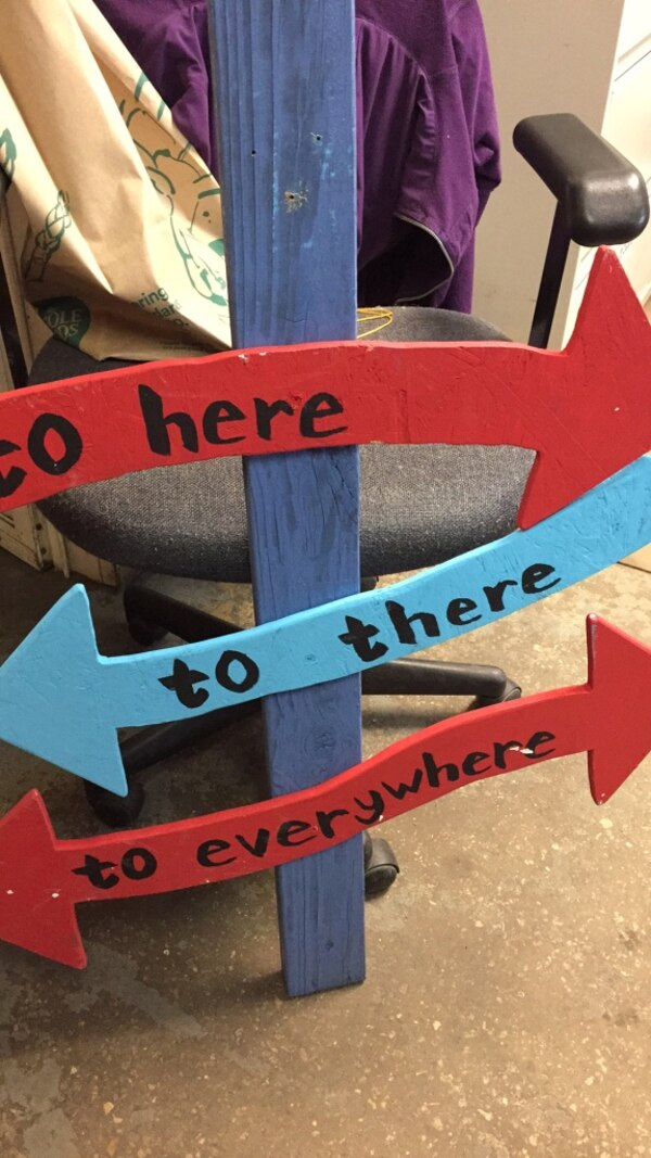 Used Dr Seuss Theme Birthday Party Sign For Sale In Fort
