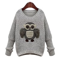 Cute owl sweater for women Mississauga