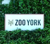 Zoo York double sided sign Manchaca, 78652