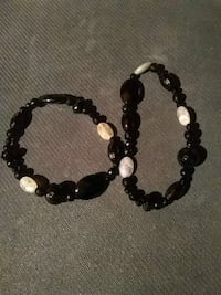 Set of 2 Moonstone & Crystal Bracelets Daly City