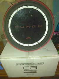 Punch crossfire C3 series subwoofers Summerville, 29485