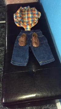 black and brown denim jeans Miami Gardens, 33055