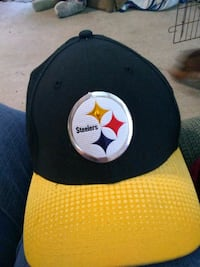 black and yellow Steelers fitted cap Winchester, 22601