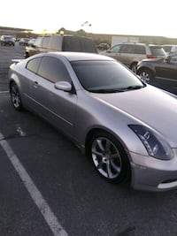 2004 Infiniti G35 Sport Coupe Leather Perf. Tire & Wheel Pkg.