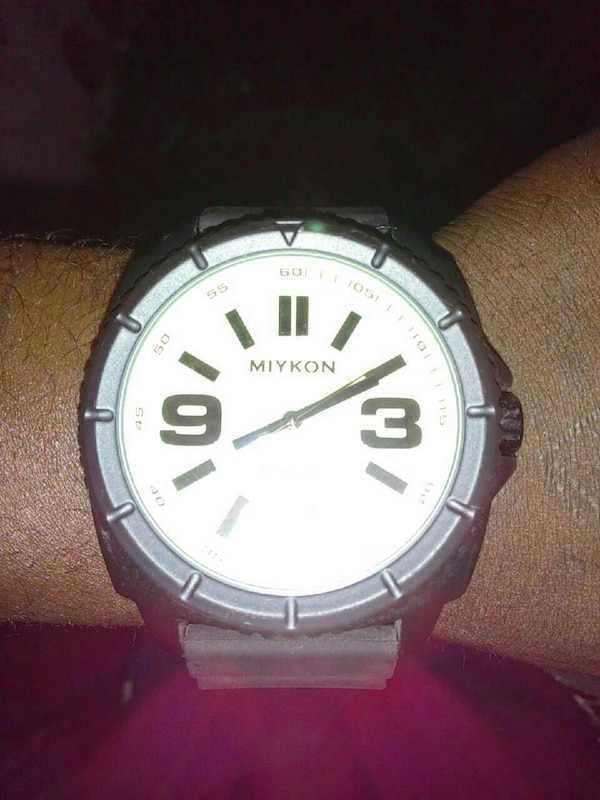8b89c510044b2 Used Miykon watch water resistant 30m stainless steel for sale in Miami -  letgo