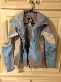 The NORTH Face HYVENT Hooded Jacket Size Sm Terry, 39170