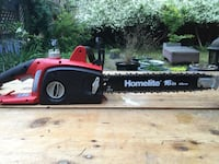 "Homelite 16"" 12 Amp Electric Chainsaw"