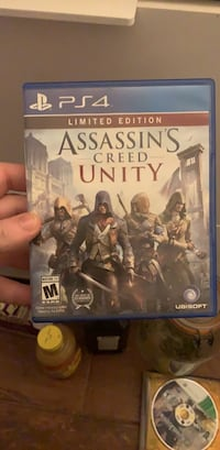 Assassins Creed Unity Limited Edition (PS4 - Great Condition) Washington, 20016