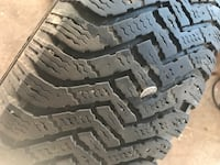2 lightly worn Good Year winter tires Edmonton, T6K