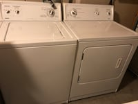 white washer and dryer set 3148 km
