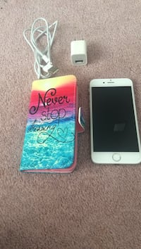 Unlock iPhone 6 64gb 1month use with case and charger with screen protector  Calgary, T2Z 3H2